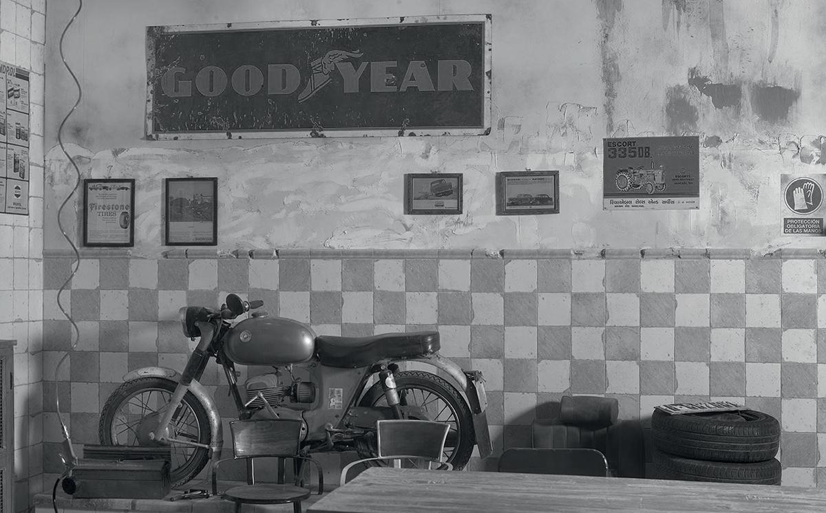 The Garage: винтажный уют от Франциско Сегарры
