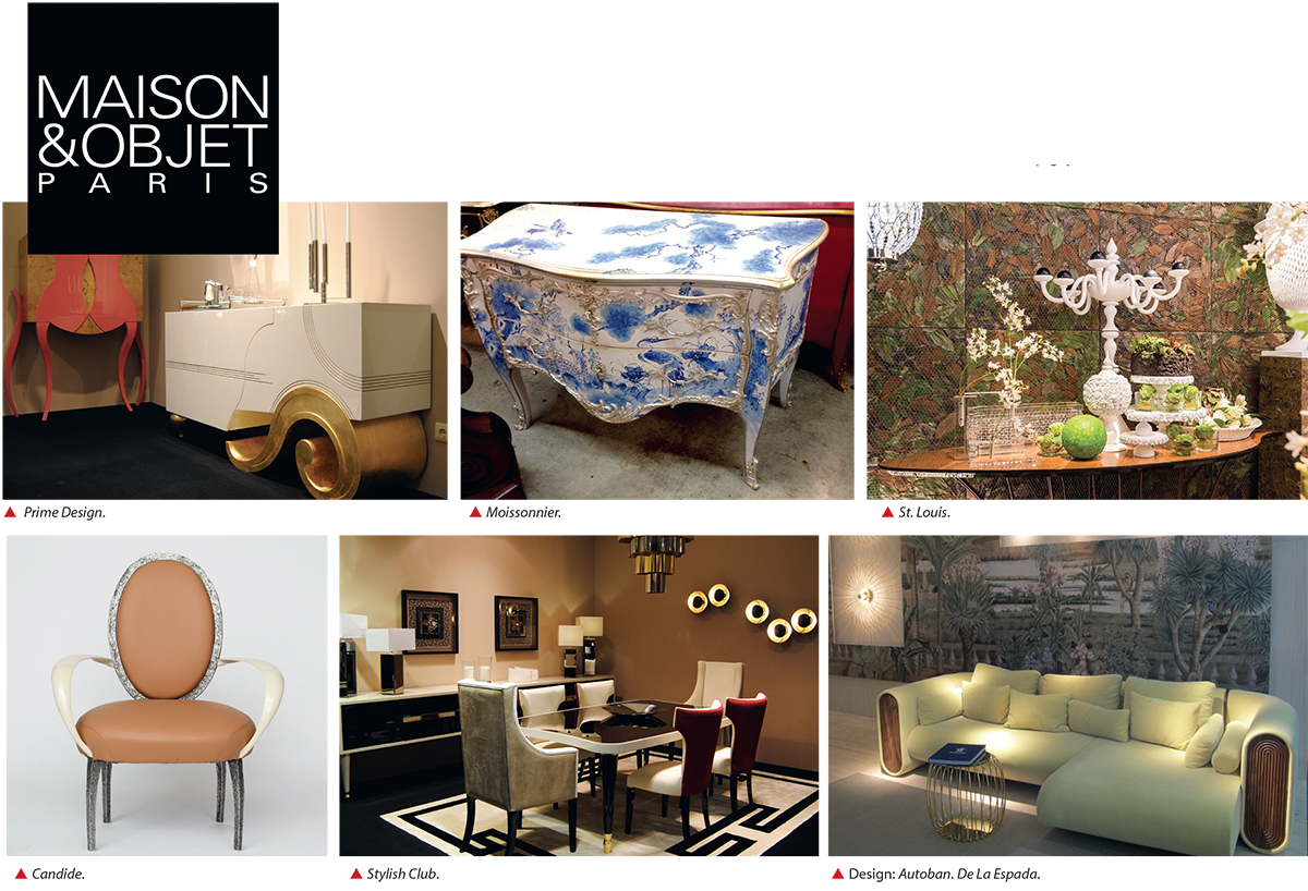 Maison&Objet: eklektika un radoša pieeja