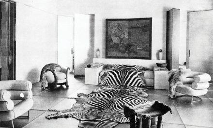Art deco. ХХ gadsimta dizaina pirmā lēdija Eilīna Greja