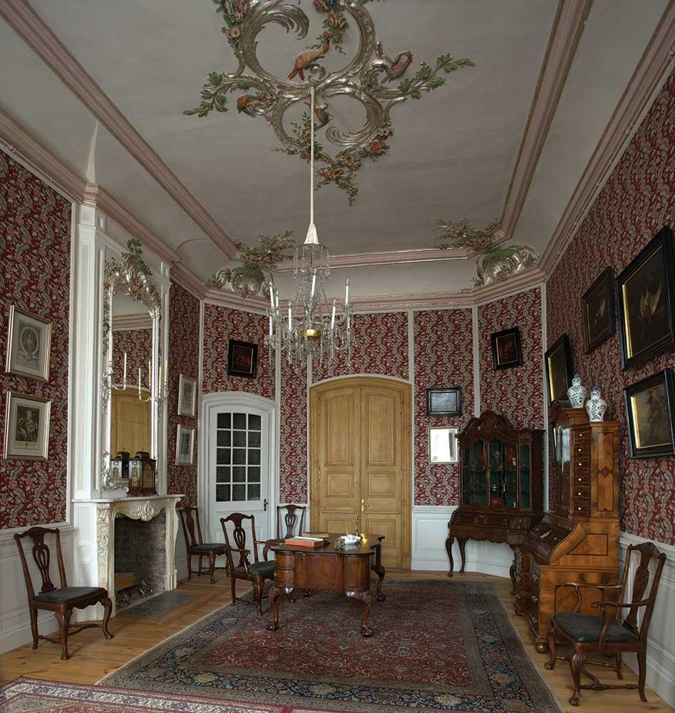 Первый рабочий кабинет герцога – воображаемая среда герцога Эрнста Иоганна.