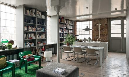 Mājoklis bibliotēkas stilā jeb pa atmiņas viļņiem