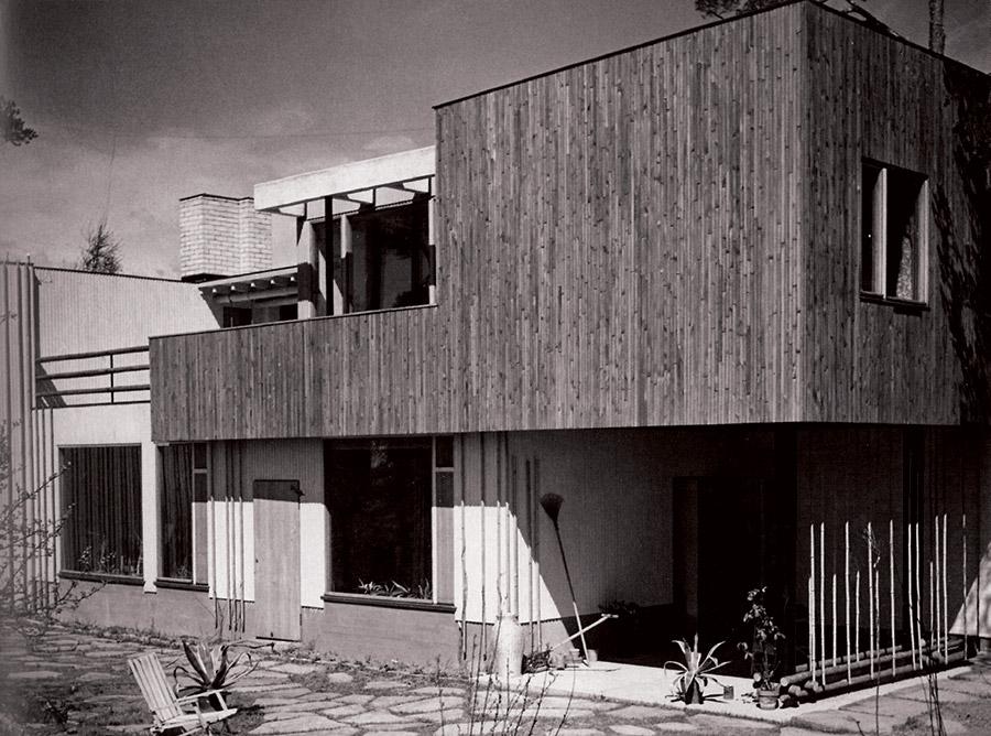 Alvara Ālto māja, kurā viņa ģimene dzīvoja 40 gadus. 1936