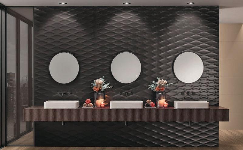 Cersaie: keramikas flīžu augstās modes nedēļa